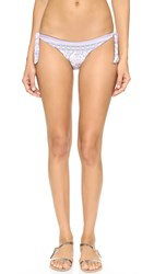 L Space Haven Tie Side Bikini Bottoms Cream