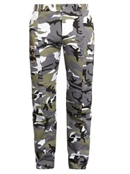 Vetements Camouflage Print Trousers Green Multi