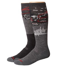 Smartwool Phd Slopestyle Medium Craigieburn Medium Grey Men's Knee High Socks Shoes Gray