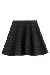Tara Jarmon Flared Skirt Black