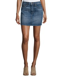 Joe's Jeans Crescendo Denim Mini Skirt Antonia Women's