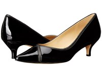 Trotters Kelsey Black Soft Patent Leather Iridescent Women's 1 2 Inch Heel Shoes