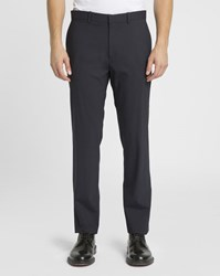 Theory Navy Marlo Regular Fit Suit Trousers Blue