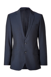 Hugo Navy Virgin Wool Amaro Heise Blazer