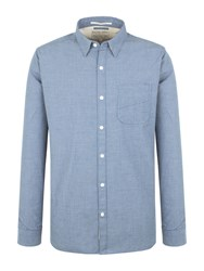 Racing Green Mervin End On End Shirt Blue