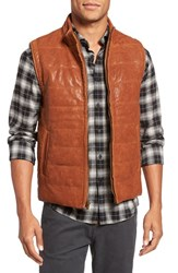 Billy Reid Men's Quilted Leather Vest
