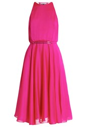 Halston Heritage Cocktail Dress Party Dress Cerise Pink