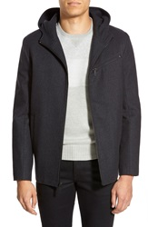 Kenneth Cole 'Hipster' Zip Front Jacket Charcoal