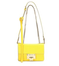 Jimmy Choo Rebel Soft Mini Leather Shoulder Bag Yellow
