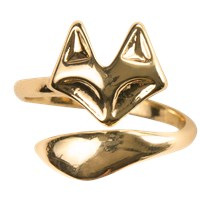 Sterling Forever Fox Ring