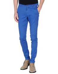 Franklin And Marshall Casual Pants Bright Blue