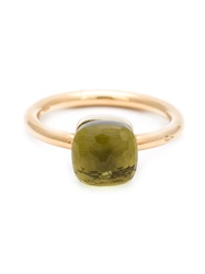 Pomellato Lemon Quartz Ring Green