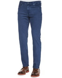 Ag Adriano Goldschmied Graduate Sulfur Wash Jeans Blue