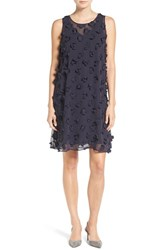 Nic Zoe Women's Chiffon Applique A Line Shift Dress