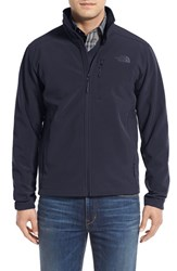 The North Face Men's 'Apex Bionic 2' Windproof And Water Resistant Soft Shell Jacket Urban Navy Urban Navy
