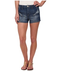 Dittos Sierra Shorts Medium Enzyme Women's Shorts Blue