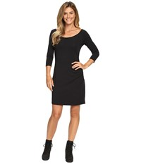 Columbia Reel Beauty 3 4 Sleeve Dress Black Women's Dress