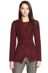 Women's St. John Collection Double Face Wool Blend Jacket