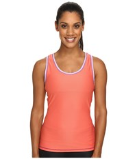 Exofficio Give N Go Sport Mesh Tank Top Hot Coral Women's Sleeveless Red