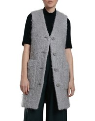 Carolina K Icone Wool Blend Vest Grey