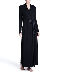 Fleurt Take Me Away Long Robe Black