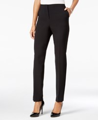 Jm Collection Slim Leg Pants Only At Macy's Deep Black