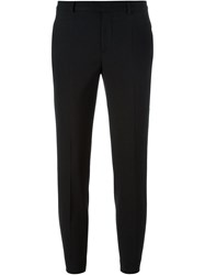 Red Valentino Cropped Trousers Black