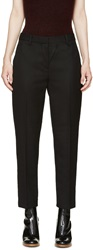 3.1 Phillip Lim Black Wool Pencil Trousers