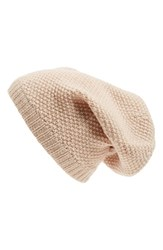 Women's Sole Society Wool Knit Beanie Ivory Natural