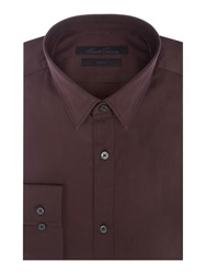 Kenneth Cole Winston Travel Shirt Burgundy
