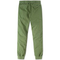 Save Khaki Cuffed Twill Chino Green