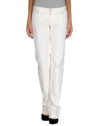 Pinko Denim Pants White