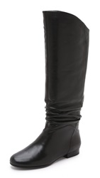 Belle By Sigerson Morrison Malina Scrunch Knee Boots Black