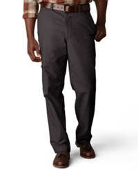 Dockers Big And Tall D3 Classic Fit Comfort Khaki Cargo Flat Front Pants