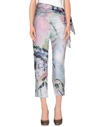 Rose' A Pois Trousers Casual Trousers Women Sky Blue
