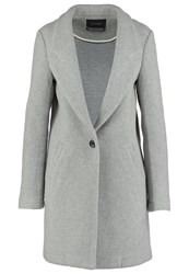 Maison Scotch Classic Coat Grey Melange