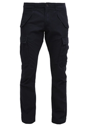 Jack And Jones Jack And Jones Jjakm Chinos Black Navy Dark Blue