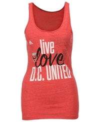 Adidas Women's Dc United Team Tank Red