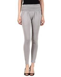 Ohne Titel Casual Pants Light Grey