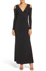 Laundry By Shelli Segal Women's Cold Shoulder Jersey Gown