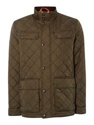 Dockers Quilted Jacket Olive
