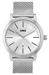 Women's Edwin 'Kenny' Mesh Strap Watch 32Mm