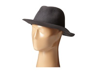 Hat Attack Wool Felt Avery Fedora Charcoal Fedora Hats Gray