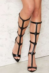 Nasty Gal Stiletto To Toe Gladiator Heels