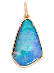 Irene Neuwirth 18Kt Gold And Boulder Opal Pendant Metallic