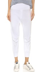 Wilt Knee Pleat Lounge Pants White
