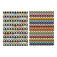 Magpie Viva Tea Towels Set Of 2