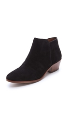 Sam Edelman Petty Suede Booties Black