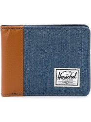 Herschel Supply Co. Denim Foldover Wallet Blue