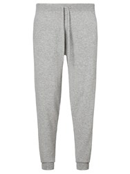 John Lewis And Co. Made In Scotland Cashmere Joggers Grey